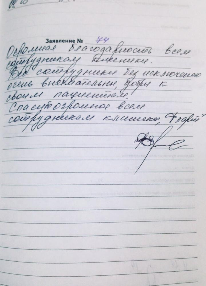 <em>Редактировать Отзыв</em> Ирина Владимировна. Стоматология Фларт