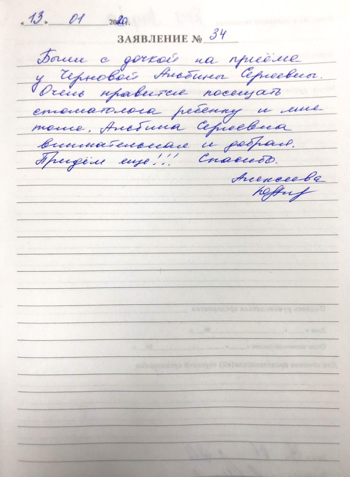 <em>Редактировать Отзыв</em> Юлия Петровна . Стоматология Фларт