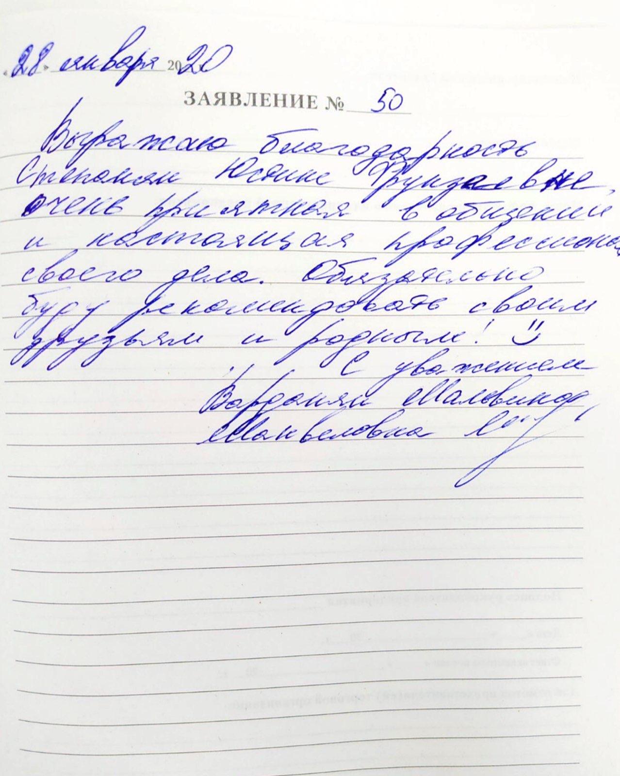<em>Редактировать Отзыв</em> Мальвина Манвеловна. Стоматология Фларт