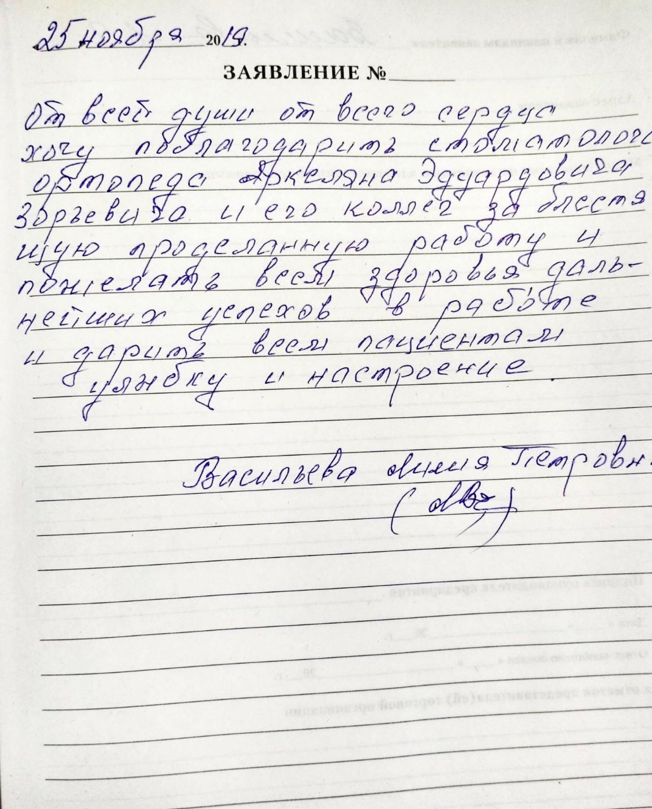 <em>Редактировать Отзыв</em> Лилия Петровна. Стоматология Фларт